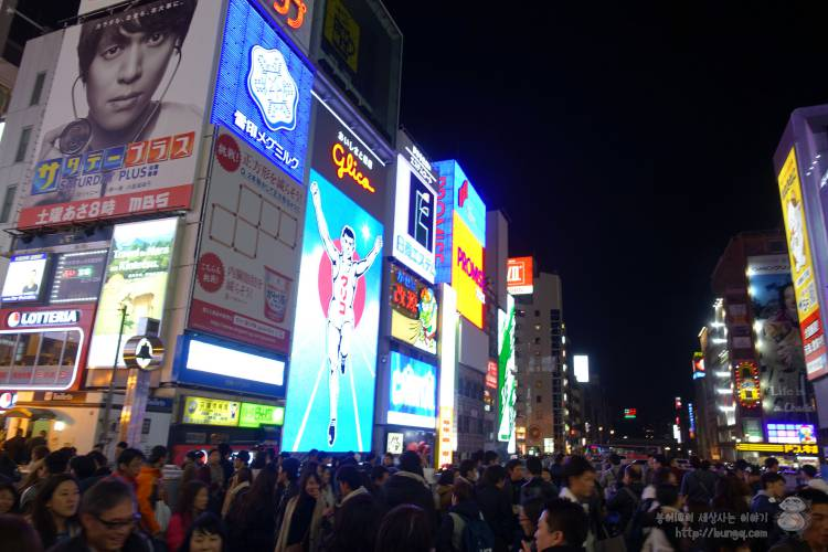 대구공항, 오사카, 오덕, 덕질, 여행, 도톤보리