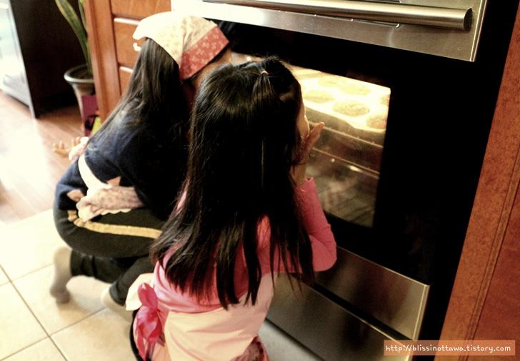 쿠키 굽기