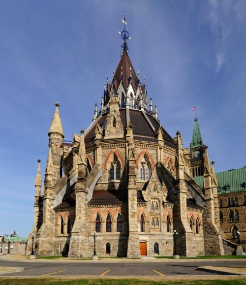 캐나다 국회의사당 도서관 Parliament of Canada Library