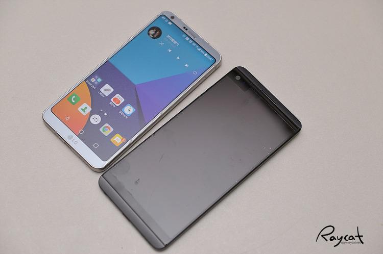 LG G6와 V20