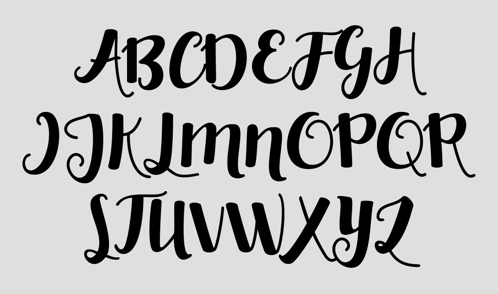 무료 영문 폰트 - Charlotte (Free Font)