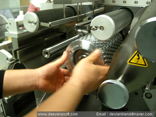 Installation of softgel machine in Europe - 04