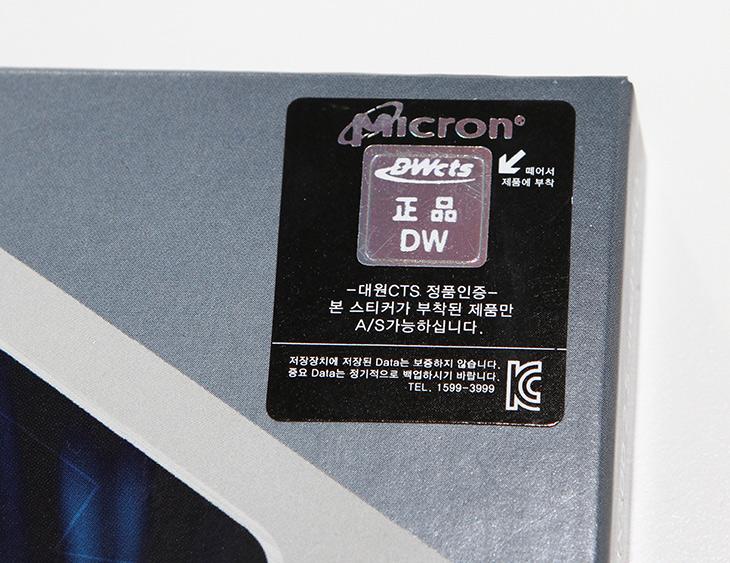마이크론 ,크루셜, MX300 ,750GB ,벤치마크 ,대원CTS,IT,IT 제품리뷰,SSD,용량이 큰 제품을 개인적으로는 좋아 합니다. 물론 성능도 괜찮은 수준에 가격도 괜찮으면 좋겠죠. 마이크론 크루셜 MX300 750GB 벤치마크를 해 봤습니다. 대원CTS에서 유통하는 제품이구요. Micron SSD 경우 좀비 SSD로 꽤 수명이 긴것으로 잘 알려져 있는데요. 그 중에서 이 모델은 가장 최신 모델로 한 분기만 판매하는 한정판 입니다. 마이크론 크루셜 MX300 750GB는 TLC 타입으로 용량을 늘리면서 성능도 잡은 모델인데요. 3D NAND 기술이 사용된 제품 입니다.