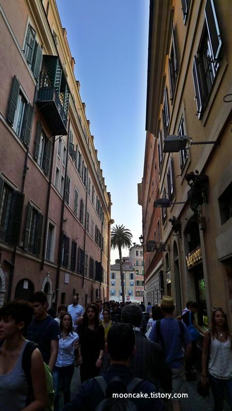 이탈리아 여행기(17)로마 - 스페인 광장 (부제 : 오래 보아야 아름답다)