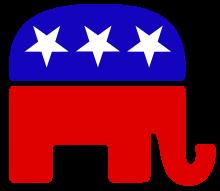 미국 공화당 로고 Republican Party Logo