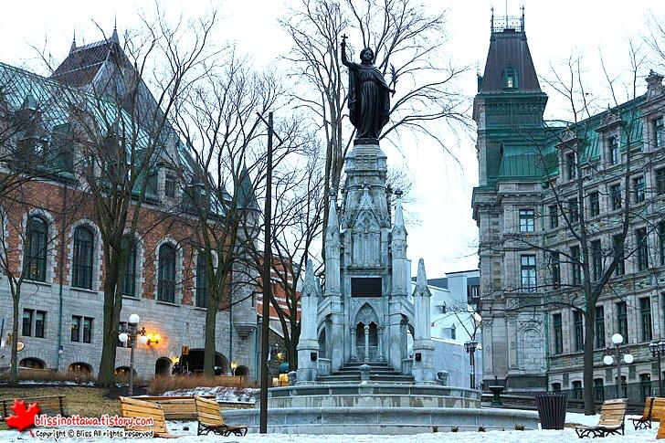 캐나다 동부 퀘벡시티 여행 다름 광장