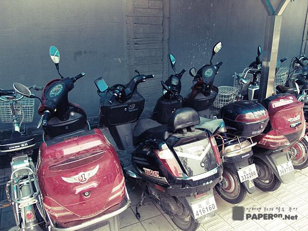중국인들의 주요 교통 수단