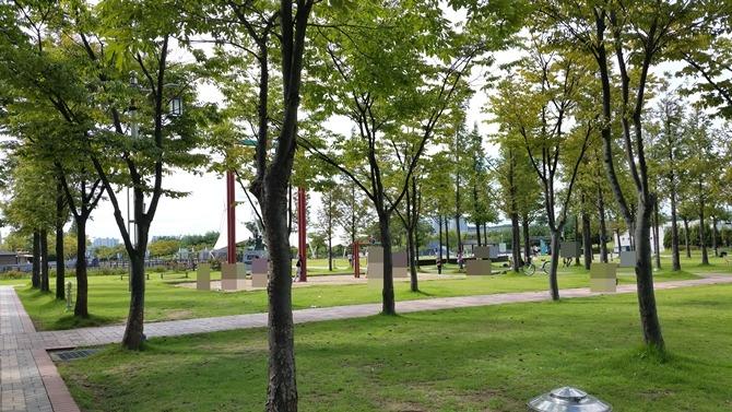 걸포공원, 김포 공원