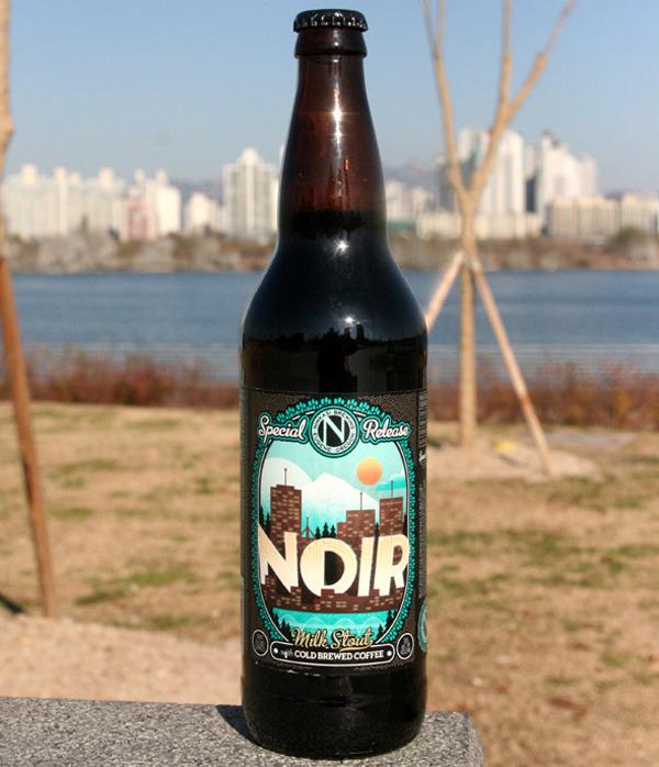 Ninkasi Noir Milk Stout (닌카시 노이어 밀크 스타우트) - 7.6%