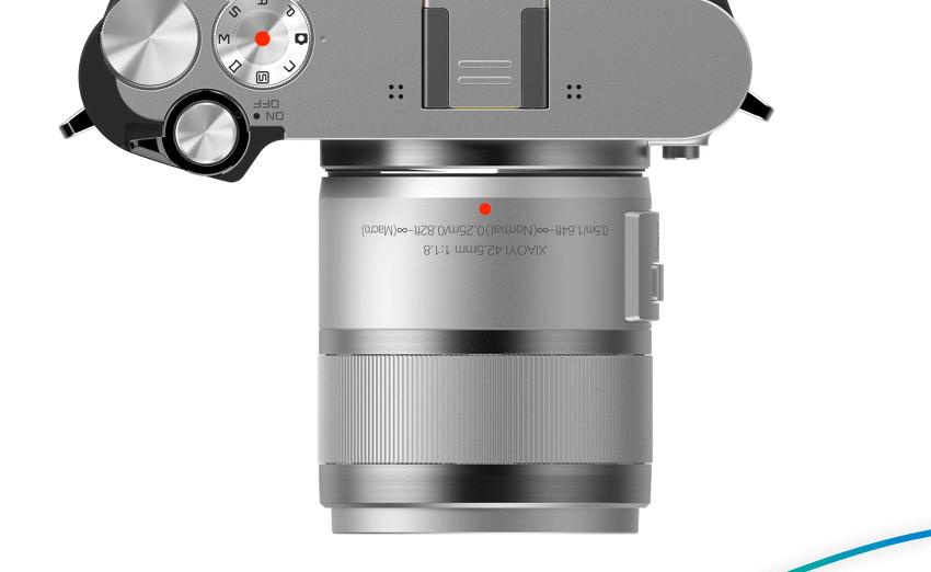 마포렌즈 호환가능한 샤오미 미러리스 카메라 M1 발표