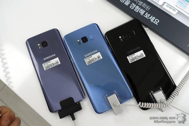 삼성, 갤럭시s8, 플러스, s8, s8+, 색상, 코랄블루
