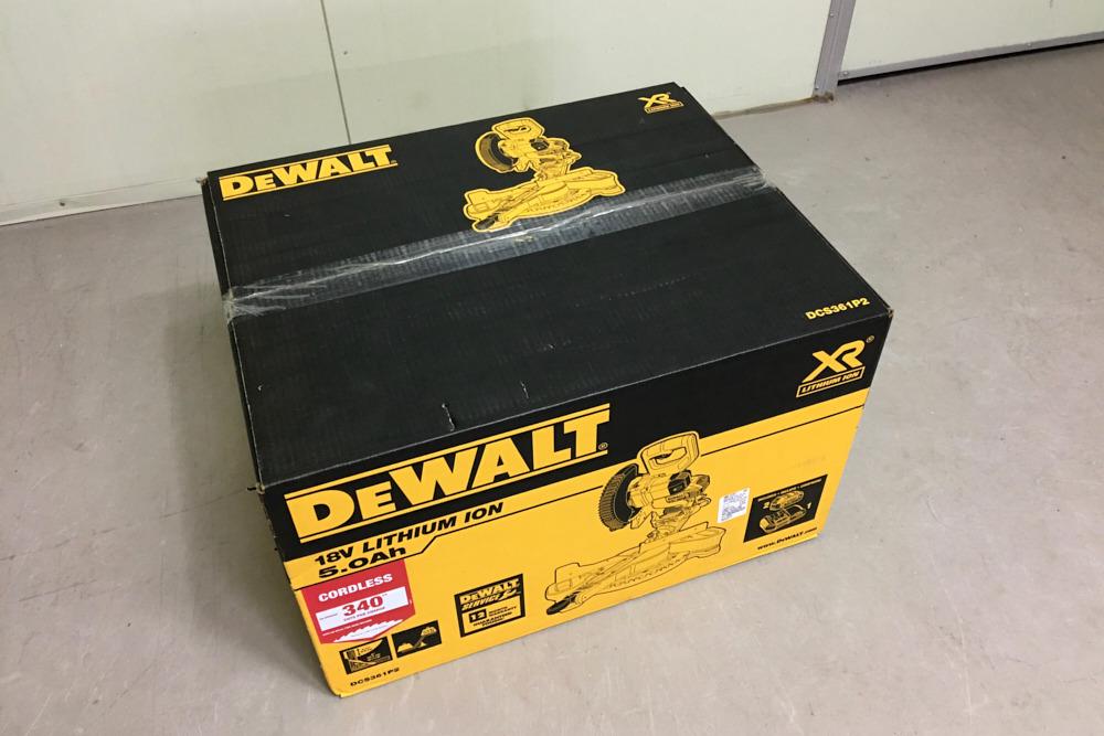DEWALT DCS361P2