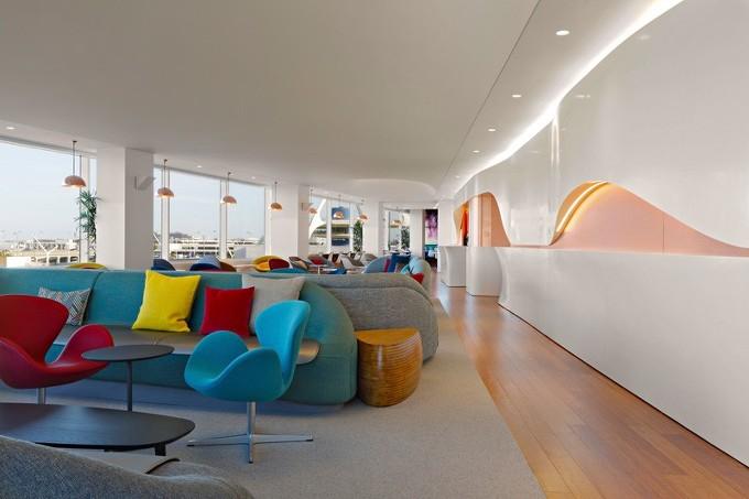*버진 아틀랜틱 항공 라운지 [ Slade Architecture ] Virgin Atlantic Clubhouse At LAX