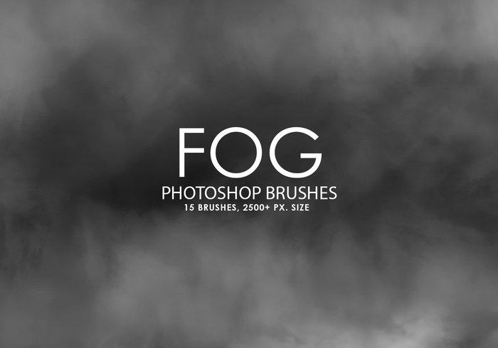 15 가지 안개(fog) 포토샵 브러쉬 - 15 Free Fog Photoshop Brushes
