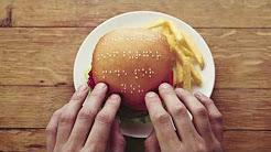 시각장애인을 위한 점자 햄버거 (Wimpy Braille Burgers)
