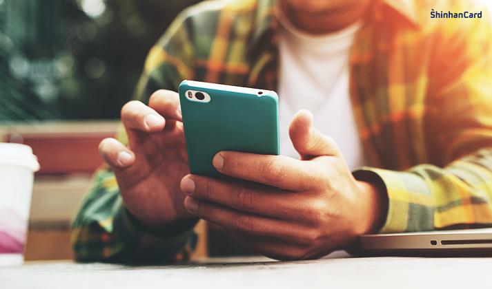 신한카드 챗봇 상담 서비스 이용 방법