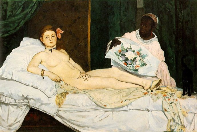 Manet, 《Olympia》, 1863