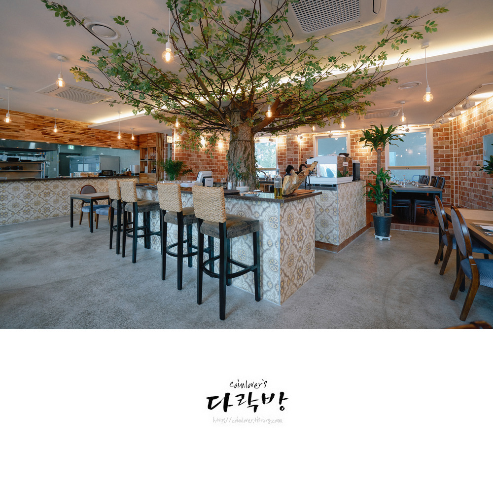 통영 맛집 - 구거제대교 인근 스페인요리 레스토랑 이니씨오 INICIO - 하몽샐러드와 감바스