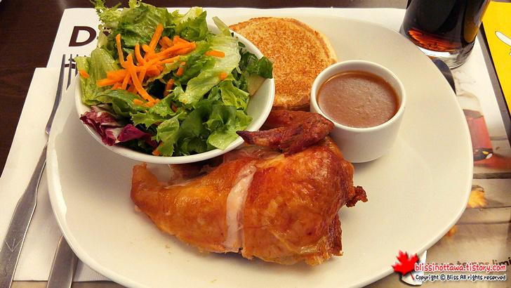 캐나다 치킨 구이
