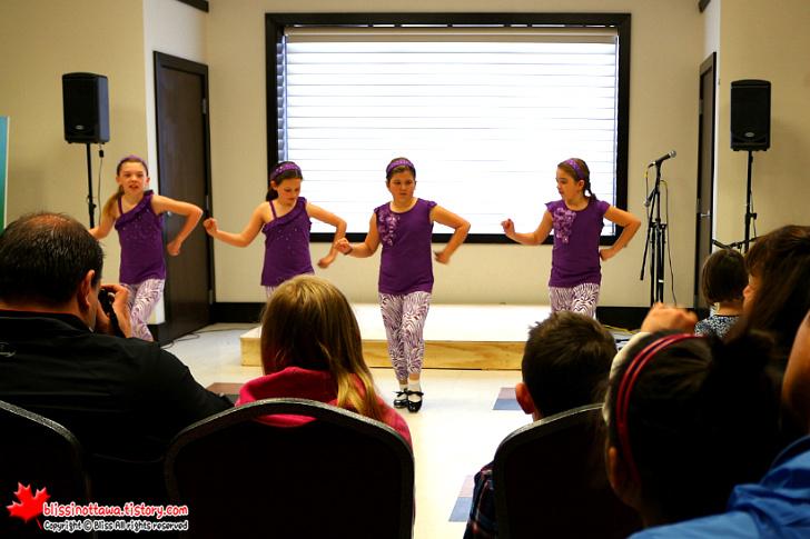 캐나다 오타와 봄 축제 ; 탭 댄스