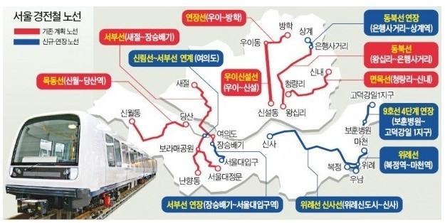 경전철 노선