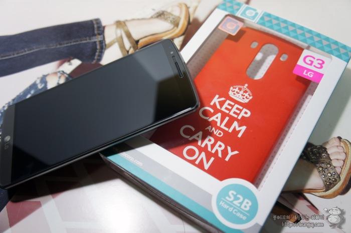 LG G3 cat6 케이스 추천, KEEP CALM AND CARRY ON 하드 케이스