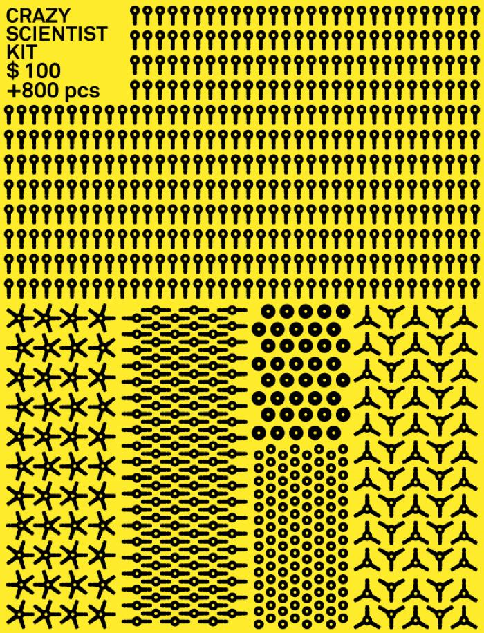 스트로비즈(Strawbees), 빨대만 있으면 과학상자 부럽지 않다?