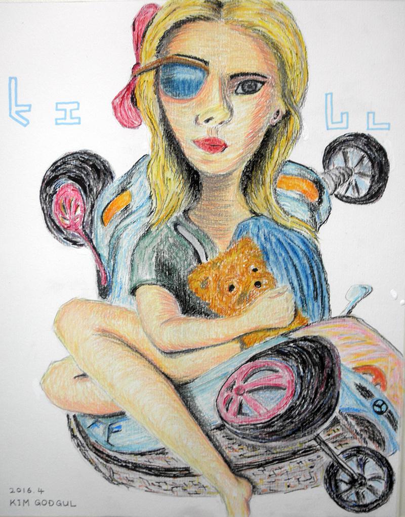 [자작 그림] 클로이 모레츠 (Chloe Moretz) 그림