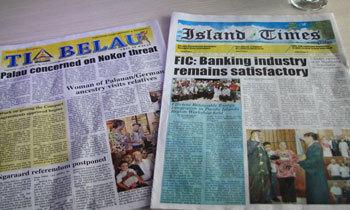 팔라우의 현지 신문
