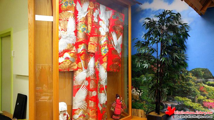 캐나다 일본 벼룩시장 플리마켓 기모노