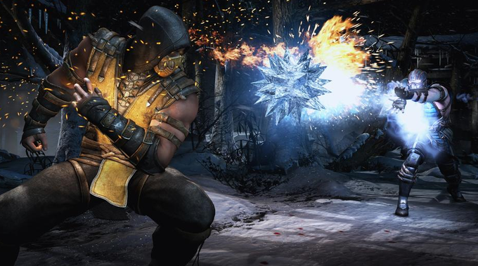 Mortal Kombat -Scorpion vs Sub-zero