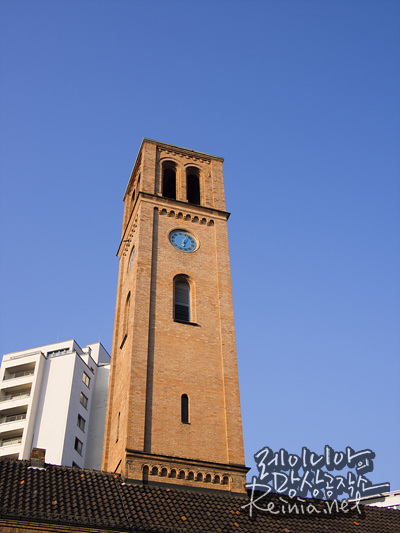 근처 교회탑