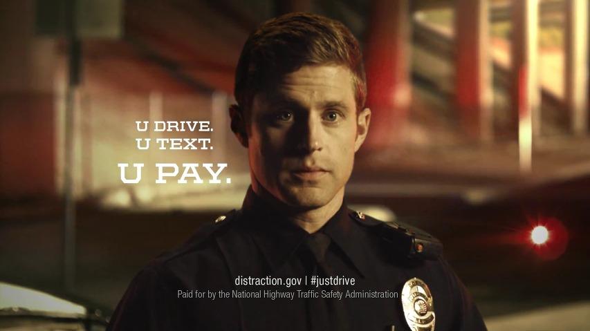 운전 중에 문자메시지를 쓰는 것은 것은 댓가를 치루게 됩니다 - 미 국립 고속도로 교통안전국 공익광고, '운전 중 문자메시지'편 [한글자막]