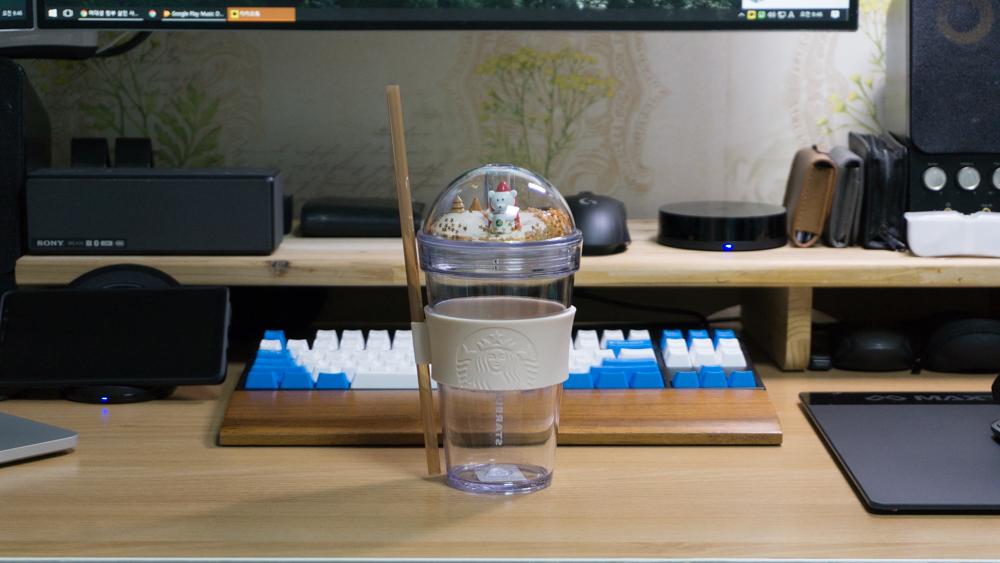 커피 빌리지 피규어 콜드컵 전체
