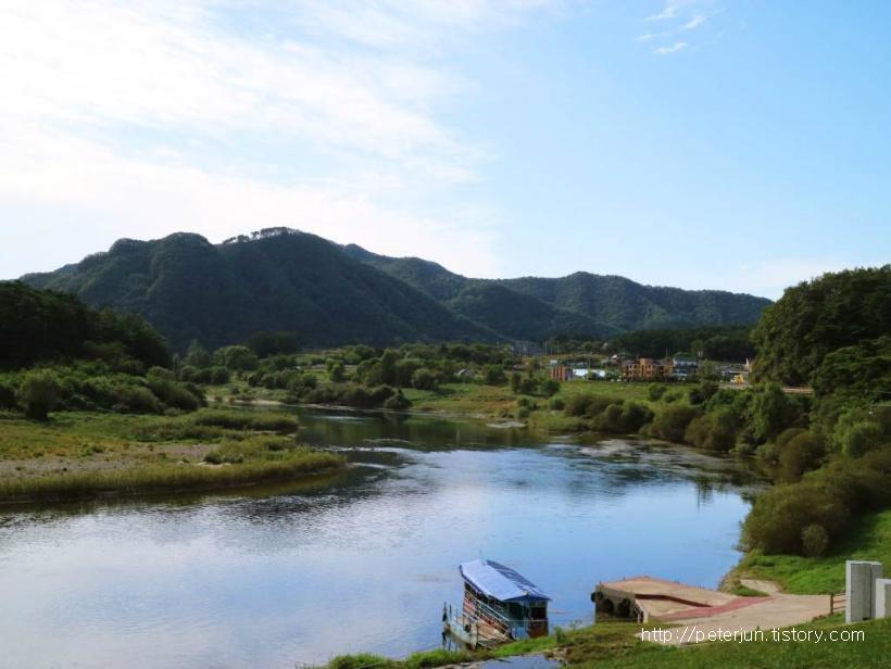 남한강 상류, 청령포 물줄기