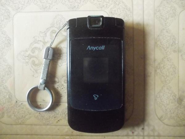 삼성 애니콜 SCH-S510 앞면 모습