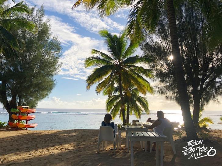 쿡 아일랜드 Cook Islands 라로통가섬 Rarotonga 크라운비치 리조트 Crown Beach Resort 칵테일 휴양지 정글의법칙 김병만 쿡제도