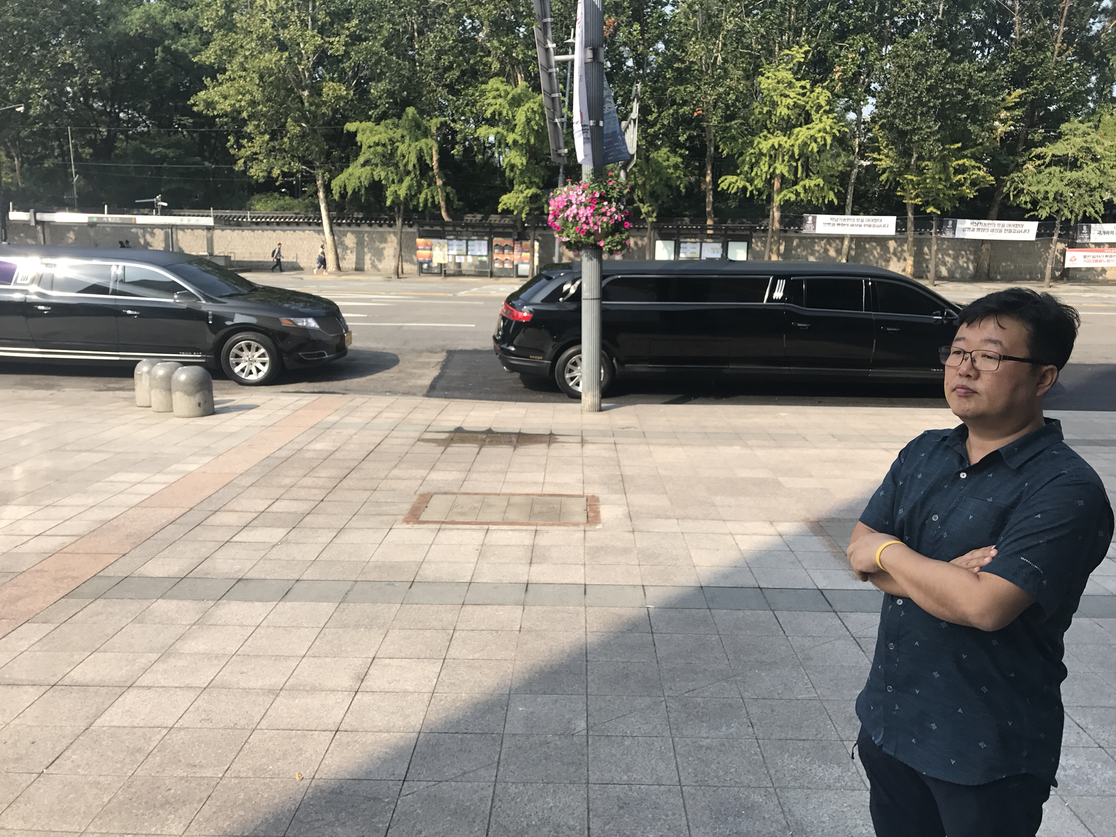 [현장화보] 세월호 조은화 허다윤 학생 단원고 도착