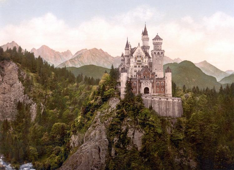 독일 노이슈반슈타인성(Neuschwanstein Castle)