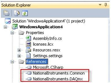 c# 프로그래밍 ni daq
