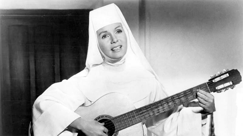 사진: 1965년 영화화 된 노래하는 수녀의 한 장면.