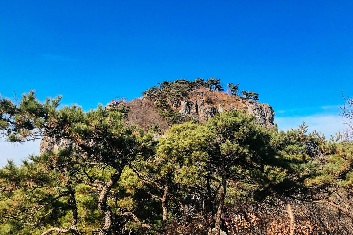 무등산 새인봉