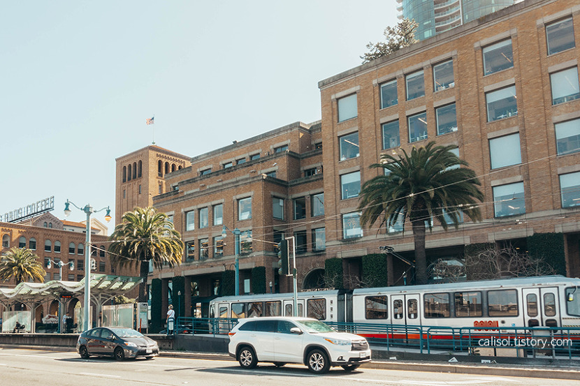 미국 생활 샌프란시스코 구글 회사