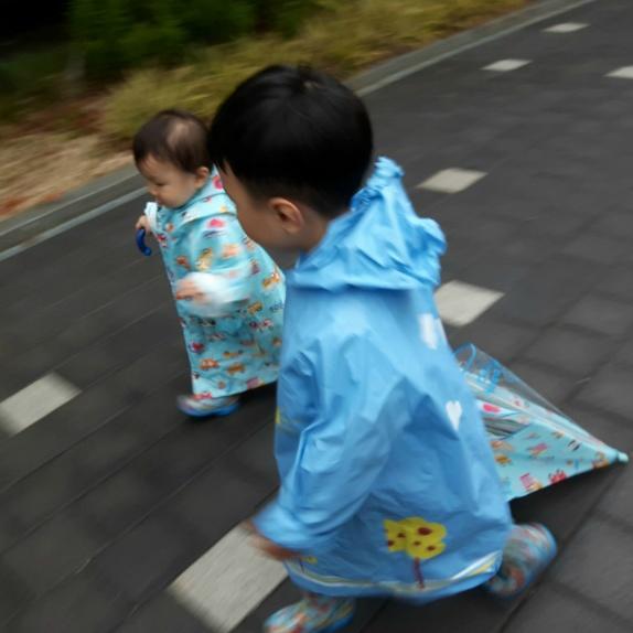 비오는 날 패션