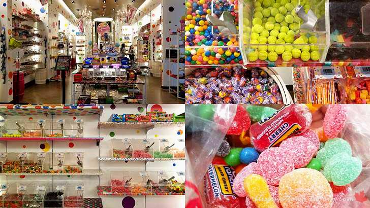 사탕 판매점입니다