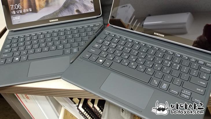 10인치 윈도우 태블릿PC 삼성 갤럭시북 10.6 북 커버 키보드