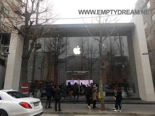 새로 생긴 애플스토어, 애플 가로수길 방문기