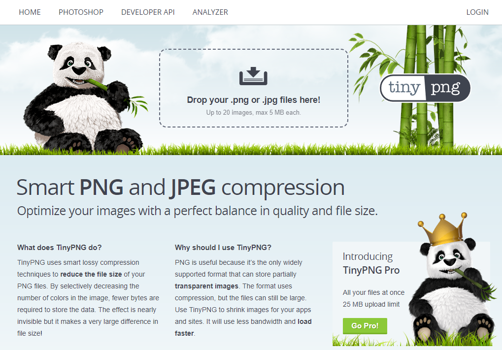 인터넷에서 간편하게 사진 파일 용량 줄이는 사이트 모음