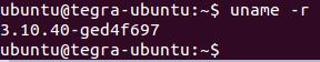 리눅스 명령어 - uname -r