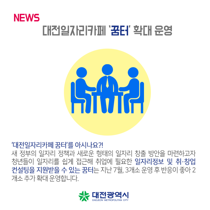 대전일자리카페 꿈터
